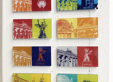 IMAGES ACRYLIQUES 20 x 10 cm