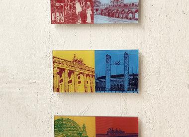 IMAGES ACRYLIQUES 30 x 15 cm
