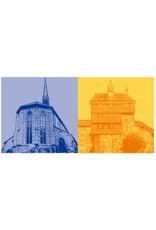 ART-DOMINO® BY SABINE WELZ Esslingen - Münster St. Paul + Hochwacht
