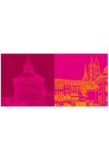 ART-DOMINO® BY SABINE WELZ Esslingen - Dicker Turm + Maille