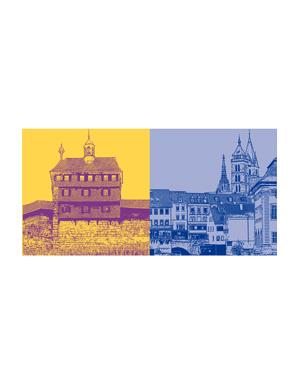 ART-DOMINO® BY SABINE WELZ Esslingen - Hochwacht + Maille