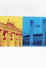ART-DOMINO® by SABINE WELZ Berlin - Brandenburger Tor + Olympiastadion