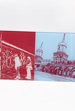 ART-DOMINO® by SABINE WELZ Berlin - Eastsidegallery + Oberbaumbrücke