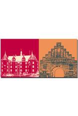 ART-DOMINO® BY SABINE WELZ Flensburg - Wasserburg + Nordertor