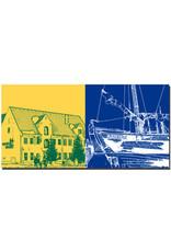 ART-DOMINO® BY SABINE WELZ Flensburg - Hansen's Brauerei + Museumswerft/Flensburg
