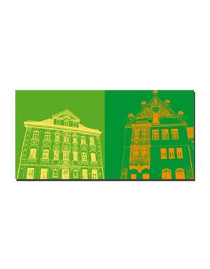 ART-DOMINO® BY SABINE WELZ Freising - Standesamt + Rathaus
