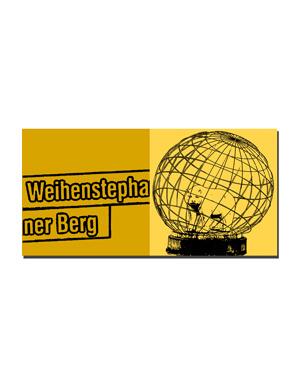 ART-DOMINO® BY SABINE WELZ Freising - Weihenstephaner Berg + Bär