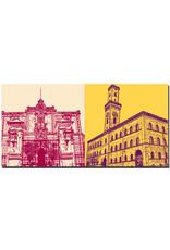 ART-DOMINO® BY SABINE WELZ Fürth - Logenhaus + Rathaus