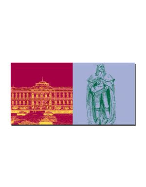 ART-DOMINO® BY SABINE WELZ Gotha - Herzögliches Museum + Herzog Ernst der Fromme
