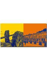 ART-DOMINO® BY SABINE WELZ Helgoland - Lange Anna mit Felsen + Hummerbuden Unterland