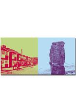 ART-DOMINO® BY SABINE WELZ Helgoland - Hummerbuden Unterland + Lange Anna
