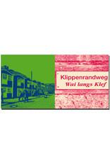 ART-DOMINO® BY SABINE WELZ Helgoland - Hummerbuden Unterland + Schild Klippenrandweg