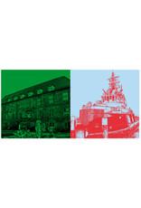 """ART-DOMINO® BY SABINE WELZ Kiel - Schloss + die """"Kiel"""""""