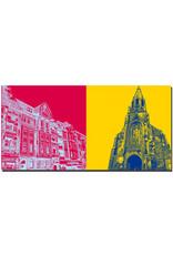 ART-DOMINO® BY SABINE WELZ Kiel - Blücherplatz + Pauluskirche