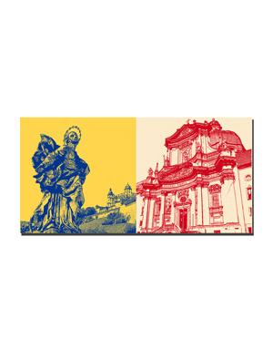 ART-DOMINO® BY SABINE WELZ Würzburg - Patrona Franconiae Heilige Jungfrau Maria + Neumünsterkirche