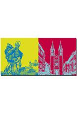 ART-DOMINO® BY SABINE WELZ Würzburg - Patrona Franconiae Heilige Jungfrau Maria + Dom St. Kilian