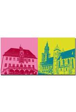 ART-DOMINO® BY SABINE WELZ Heilbronn - Altes Rathaus + Kilianskirche