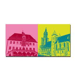 ART-DOMINO® BY SABINE WELZ LEINWANDBILD - HEILBRONN - 090-08