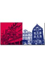 ART-DOMINO® BY SABINE WELZ Hamburg - Reeperbahn + Davidswache