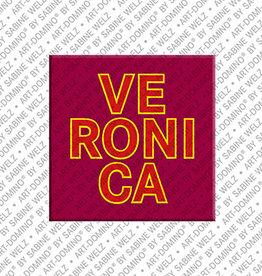 ART-DOMINO® by SABINE WELZ Magnet VERONICA