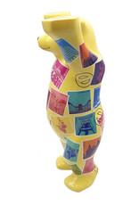 ART-DOMINO® by SABINE WELZ Buddy Bear with Germany motifs - 22 cm