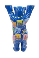 ART-DOMINO® BY SABINE WELZ Buddy Bear avec des motifs europe - 22 cm