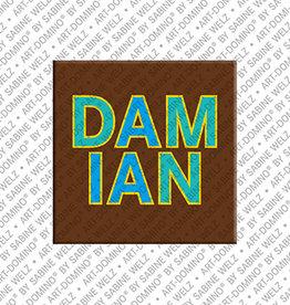 ART-DOMINO® by SABINE WELZ Magnet DAMIAN