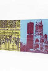 ART-DOMINO® by SABINE WELZ Berlin - Kurfürstendamm + Kaiser-Wilhelm-Gedächtniskirche
