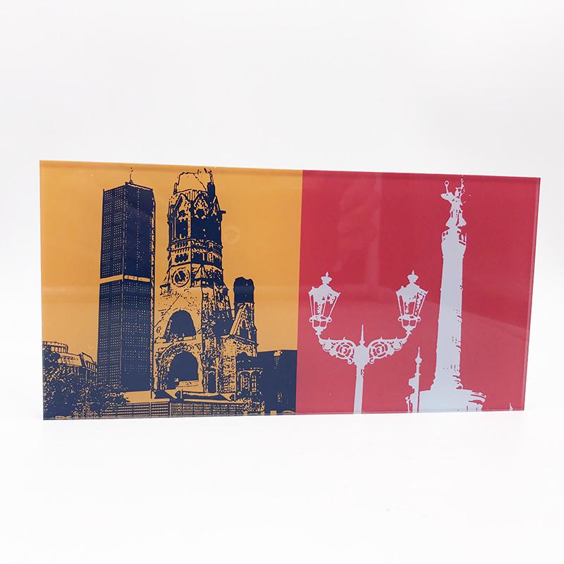 ART-DOMINO® BY SABINE WELZ Berlin - Kaiser-Wilhelm-Gedächtniskirche + Siegessäule