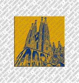 ART-DOMINO® by SABINE WELZ Magnet - BARCELONA - 04