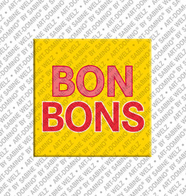 ART-DOMINO® by SABINE WELZ Magnet - BONBONS