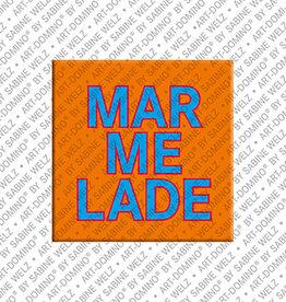 ART-DOMINO® by SABINE WELZ Magnet - MARMELADE