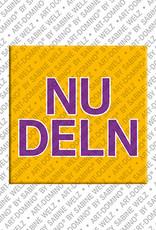 ART-DOMINO® by SABINE WELZ Nudeln – Magnet mit Nudeln