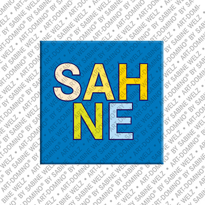 ART-DOMINO® by SABINE WELZ Sahne – Aimant avec Sahne