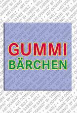 ART-DOMINO® by SABINE WELZ Gummibärchen – Magnet mit Gummibärchen
