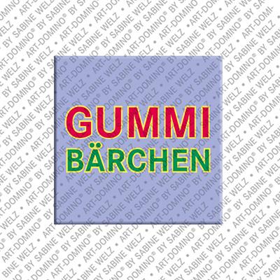 ART-DOMINO® by SABINE WELZ Gummibärchen – Aimant avec Gummibärchen