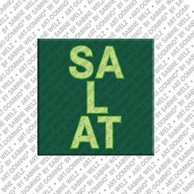 ART-DOMINO® BY SABINE WELZ Salat – Aimant avec Salat
