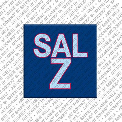ART-DOMINO® BY SABINE WELZ Salz – Magnet mit Salz
