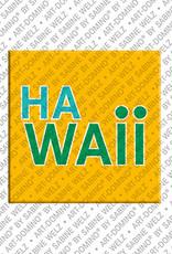 ART-DOMINO® BY SABINE WELZ Hawaii - Lettering