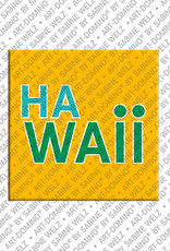 ART-DOMINO® by SABINE WELZ Hawaii - Schriftzug