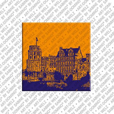 ART-DOMINO® by SABINE WELZ Heidelberg - Schloß