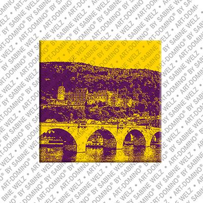 ART-DOMINO® by SABINE WELZ Heidelberg - Vieux pont
