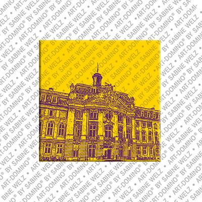 ART-DOMINO® BY SABINE WELZ Münster - Fürstbischöfliches Schloß - Universität