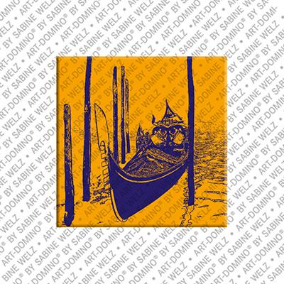 ART-DOMINO® by SABINE WELZ Venedig - Gondel - 2