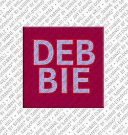 ART-DOMINO® by SABINE WELZ Magnet DEBBIE