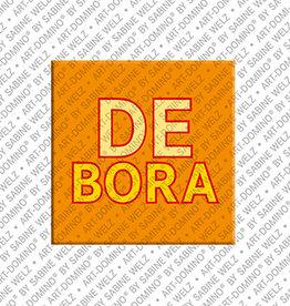 ART-DOMINO® by SABINE WELZ Magnet DEBORA