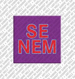 ART-DOMINO® by SABINE WELZ Magnet SENEM