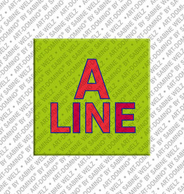 ART-DOMINO® by SABINE WELZ Magnet ALINE