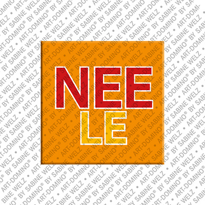ART-DOMINO® BY SABINE WELZ Neele - Aimant avec le nom Neele