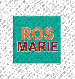 ART-DOMINO® by SABINE WELZ Magnet ROSMARIE